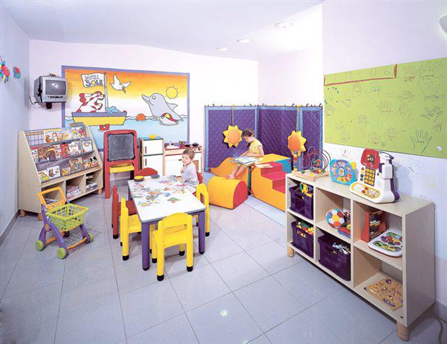 Sala Giochi Per Bambini : Hotel per bambini a cattolica